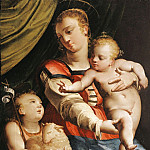 часть 4 -- European art Европейская живопись - Luca Cambiaso The Virgin and Child with the Young Saint John the Baptist 16059 203