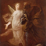часть 4 -- European art Европейская живопись - Pietro Ricchi Saint Peter Delivered from Prison by the Angel 16912 203