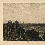 часть 4 -- European art Европейская живопись - Maxime Lalanne Bordeaux vue prise de la CГґte de CГ©non – View of Bordeaux from CГ©non 1879 122941 1124