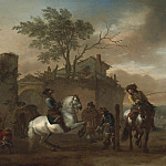 часть 4 -- European art Европейская живопись - Philips Wouwerman The riding school 42089 20