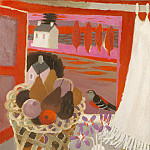 часть 4 -- European art Европейская живопись - Mary Fedden Bird and basket 98199 20