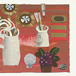 часть 4 -- European art Европейская живопись - Mary Fedden Flowers and brushes 98279 20