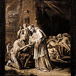 часть 4 -- European art Европейская живопись - Orazio Borgianni Saint Charles Borromeo Visiting the Plague Stricken 16208 203