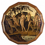 часть 4 -- European art Европейская живопись - Master of the Griselda Legend Siena Active last decade of the 15th sup century A Bacchanalian Scene 16926 203