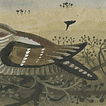 часть 4 -- European art Европейская живопись - Mary Fedden Nightjar in a hedge 98320 20