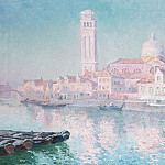 часть 4 -- European art Европейская живопись - Paul Leduc View of Venice 18398 617