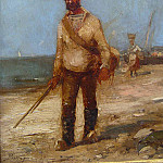 часть 4 -- European art Европейская живопись - Paul Bistagne The fisherman 36892 3306