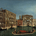 часть 4 -- European art Европейская живопись - Michele Marieschi The Grand Canal Venice with Palazzo Foscari and Palazzo Balbi 40273 20