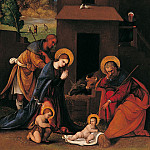 часть 4 -- European art Европейская живопись - Ludovico Mazzolino The Nativity with the Annunciation to the Shepherds 16722 203