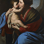 часть 4 -- European art Европейская живопись - Massimo Stanzione The Virgin and Child 27776 203
