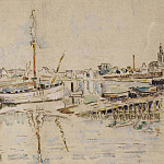 часть 4 -- European art Европейская живопись - Paul SIGNAC Port Louis 40980 3449