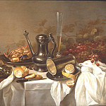 часть 4 -- European art Европейская живопись - Pieter Claesz and Roelof Koets Breakfast Still Life 80559 276