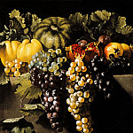 часть 4 -- European art Европейская живопись - Master of the Acquavella Still LifeRome 1615 1630 1635 Still Life with Fruit 16216 203