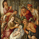 часть 4 -- European art Европейская живопись - Pieter Pietersz Aertsen Adoration of the Sheperds 85039 321