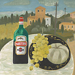 часть 4 -- European art Европейская живопись - Mary Fedden The Martini bottle 98368 20