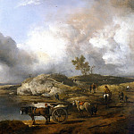 часть 4 -- European art Европейская живопись - PHILIPS WOUWERMAN Landscape with Duck Hunter 83019 316