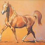 часть 4 -- European art Европейская живопись - Peter Upton A Young Stallion 76339 3606