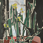 часть 4 -- European art Европейская живопись - Patrick Heron Still life with Jonquils 28340 20