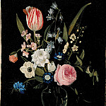 часть 4 -- European art Европейская живопись - Maria Theresia Thielen Flower Still Life 357 268