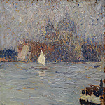 часть 4 -- European art Европейская живопись - Martin Henri Jean Guillaume View of Venice 42239 121