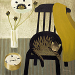 часть 4 -- European art Европейская живопись - Mary Fedden The poppy the cat and the compass 98369 20