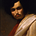 часть 4 -- European art Европейская живопись - MAX FГњRST Portrait of the painter Nikolaus Gysis bust length 33038 172