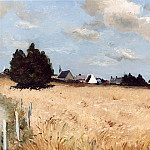 часть 4 -- European art Европейская живопись - Marcel Dyf Village of Kerjouano France 11873 2426