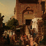 часть 4 -- European art Европейская живопись - PETITEAU Edmond 19th Century French School Oriental Market 41046 121