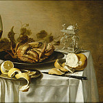 часть 4 -- European art Европейская живопись - Pieter Claesz Still life with a roemer and a crab 97999 20