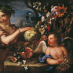 часть 4 -- European art Европейская живопись - Luigi Garzi Franz Werner Tamm called Dapreit Allegory of Autumn 16730 203