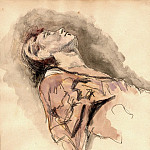часть 4 -- European art Европейская живопись - Otto Greiner Study of a Female Dancer 18821 172