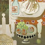 часть 4 -- European art Европейская живопись - Mary Fedden Orange table top still life 98339 20
