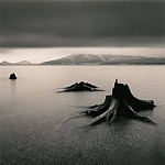 часть 4 -- European art Европейская живопись - Michael Kenna Tree Remains Bifue Hokkaido Japan 2004 40649 184