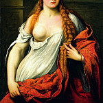 часть 4 -- European art Европейская живопись - Paris Bordon Portrait of a Young Woman 5139 203
