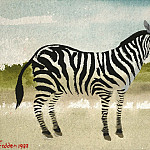 часть 4 -- European art Европейская живопись - Mary Fedden Man and zebra 98319 20