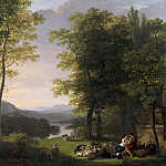 Pieneman, Jan Willem -- Arcadisch landschap, 1813, Rijksmuseum: part 2