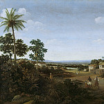 Rijksmuseum: part 2 - Post, Frans Jansz. -- Landschap in Brazilië, 1644-1680