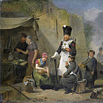 Govaerts, Anthonie Constantijn -- De marketentster, 1825-1827, Rijksmuseum: part 2