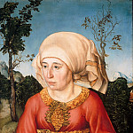 Part 3 - Lucas Cranach I (1472-1553) - Portrait of the wife of a doctor Johann Reiss
