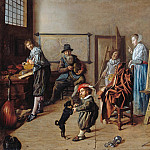 Part 3 - Jan Miense Molenaer (c.1610-1668) - The workshop of the painter