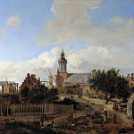Part 3 - Jan van der Heyden (1637-1712) - Street outside the Haarlem gate in Amsterdam