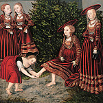 Part 3 - Lucas Cranach I (1472-1553) - David and Bathsheba