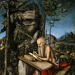 Lucas Cranach I – St Jerome in a rocky landscape, Part 3