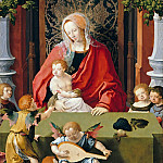 Part 3 - Lucas van Leyden (1494-1533) - Virgin and Child with Angels