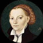 Part 3 - Lucas Cranach I (1472-1553) - Portrait of Katharina of Bora