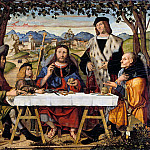Part 3 - Marco Marziale (c.1440-1507) - Christ at Emmaus