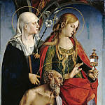 Part 3 - Luca Signorelli (c.1445-1523) - The St. Eustace, Mary Magdalene and Jerome