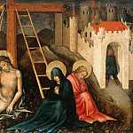 Part 3 - Master der Darbringung - Christ as Man of Sorrows with Mary and John at the Cross