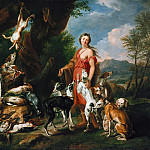 Part 3 - Jan Fyt (1611-1661) - Diana with her dogs beside dead game