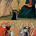 Part 3 - Lippo Memmi (after1290-1356) - Annunciation and six saints